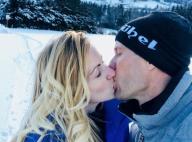 """Sébastien Ogier : """"Quintuple baiser"""" avec sa chérie Andrea Kaiser à Monte-Carlo"""