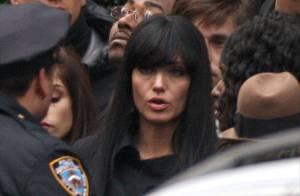 Angelina Jolie : avec les cheveux noirs, elle est encore plus sublime ! Regardez !
