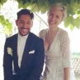 Cyril Kamar (K.Maro) et son épouse, Anne-Sophie Mignaux, se sont dit oui