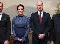 Kate Middleton : Enceinte, elle brave le froid en beauté à Oslo avec William