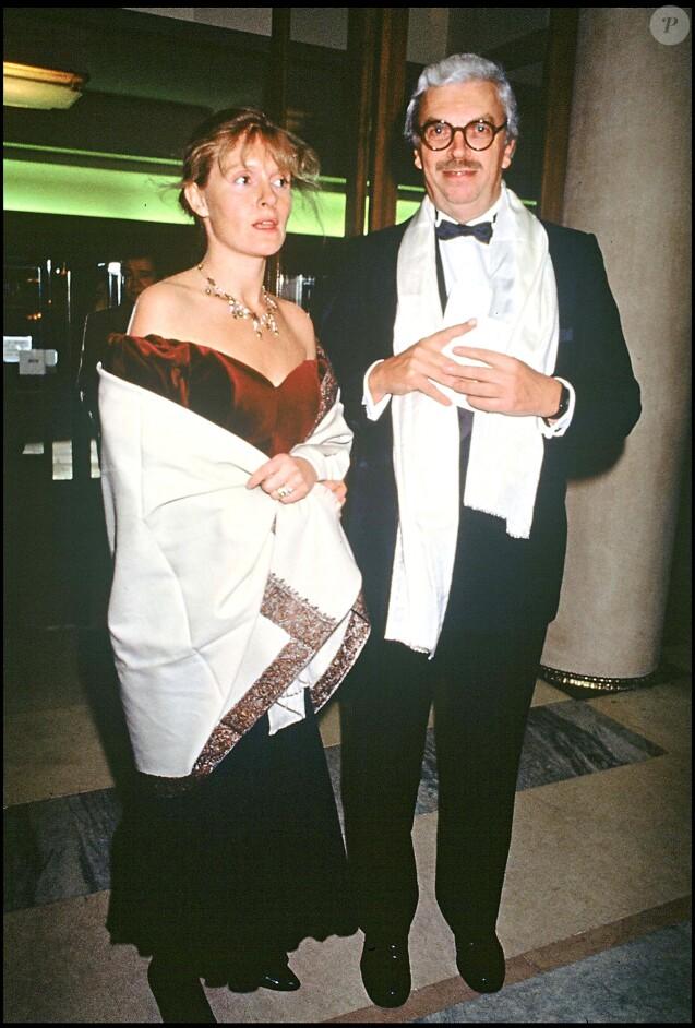 Daniel Toscan du Plantier et sa femme Sophie aux César 2010.