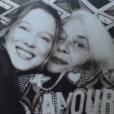 Mère et fille : Léa Seydoux a posté des photos pour la Fête des mères aux Etats-Unis. Sur celle-ci elle pose avec sa mère Valérie Schlumberger - mai 2016