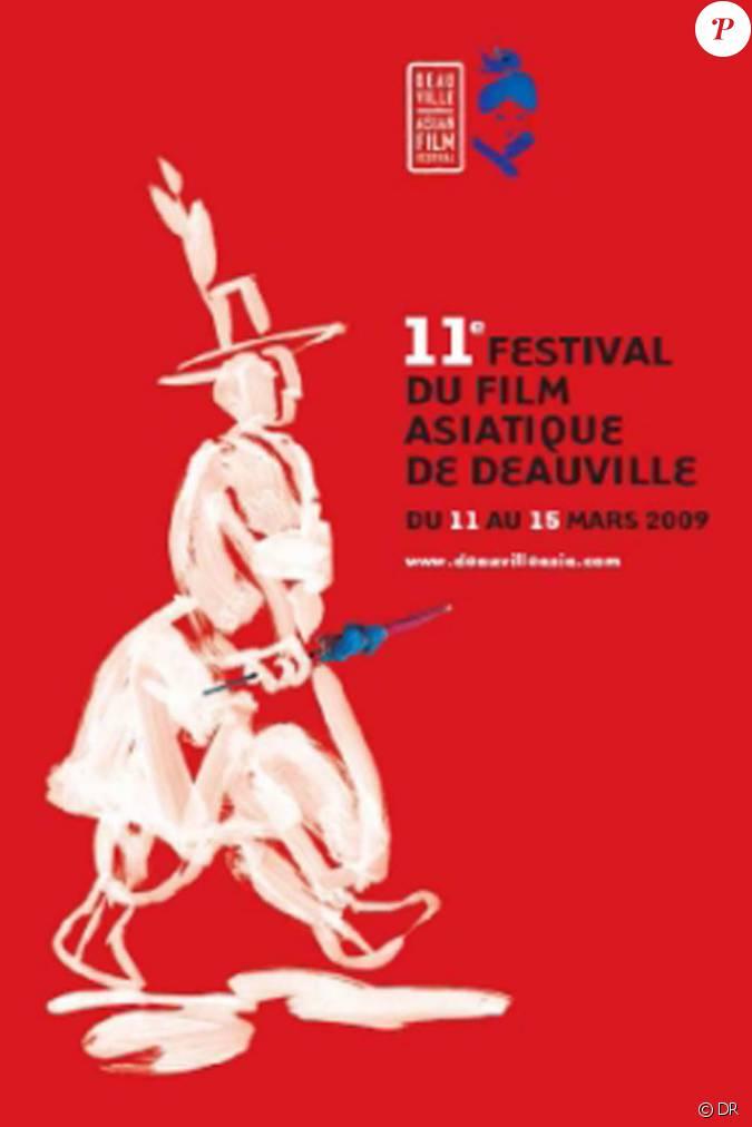 l 39 affiche du 11e festival du cin ma asiatique de deauville qui s 39 est tenu du 11 au 15 mars 2009. Black Bedroom Furniture Sets. Home Design Ideas