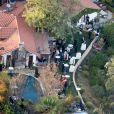Mariage de John Stamos (ex-mari de Rebecca Romijn) et de Caitlin McHugh à Studio City, Californie, le 3 février 2018.