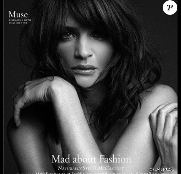 """La belle Helena Christensen... dans l'édition italienne printemps/été de """"Muse"""" !"""