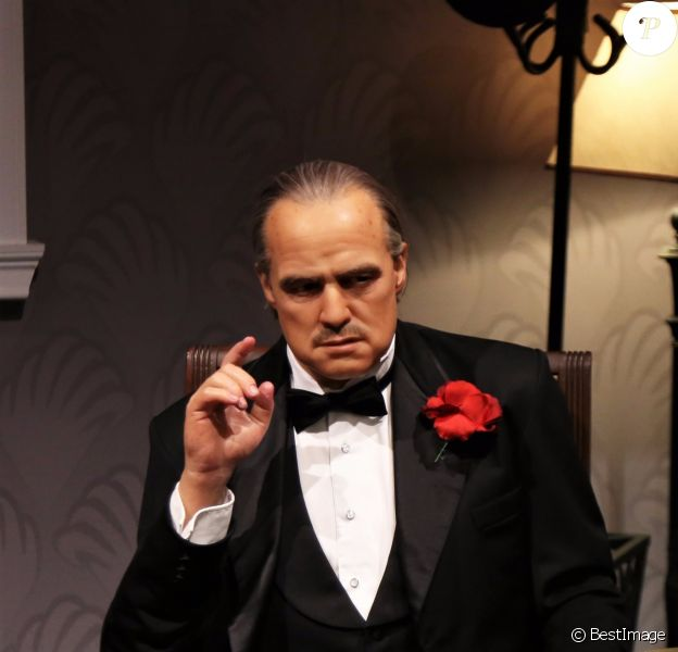 Marlon Brando - Exclusif - Statues de cire des célébrités chez Madame Tussauds à Los Angeles, le 25 septembre 2017  Exclusive - Madame Tussauds Hollywood wax figures on display in Los Angeles, CA. 25th September 201725/09/2017 - Los Angeles