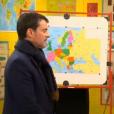 """Manuel Valls dans l'émission """"Au tableau !"""" diffusée sur C8 le 7 février 2018"""