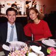 Exclusif - Manuel Valls et sa femme Anne Gravoin - B. Patou fête ses 40ans à l'hôtel particulier Salomon de Rothschild à Paris, France, le 22 juin 2017. © Rachid Bellak/Bestimage