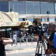 De nombreux médias présents à Nice vendredi 15 juillet 2016