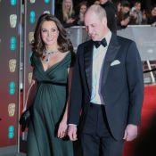 Kate Middleton, enceinte, choque en refusant de porter du noir aux BAFTA