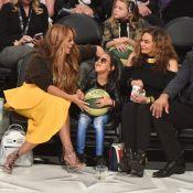 Beyoncé et Blue Ivy : Un duo ultrastylé pour admirer les meilleurs basketteurs