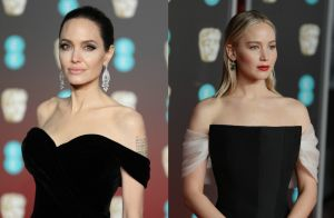 Angelina Jolie, Jennifer Lawrence... Défilé de bombes en noir pour les BAFTA 2018