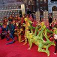 """La troupe du """"Cirque du Soleil"""" à la 71ème cérémonie des British Academy Film Awards (BAFTA) au Royal Abert Hall à Londres, le 18 février 2018.  Celebrities at the 71st ceremony of the British Academy Film Awards (BAFTA) held at the Royal Albert Hall in London. February 18th, 2018.18/02/2018 - Londre"""