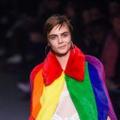 Fashion Week : Cara Delevingne défile devant Paris Jackson et Kate Moss