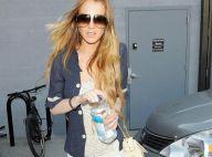 Lindsay Lohan est rayonnante, mais toujours aussi mince... et soucieuse !