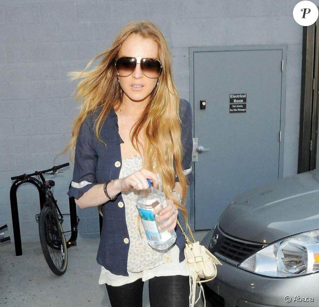 Lindsay Lohan à L.A. 18/03/09