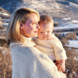 Katherine Heigl et son fils Joshua sur une photo publiée sur Instagram. Février 2018.