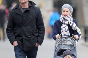 Liev Schreiber et Naomi Watts et leur fils... en mode détente à New York !