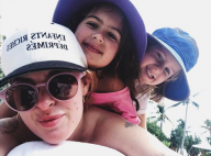 Rumer Willis avec ses deux petites soeurs Mabel et Evelyn : Trop craquantes !