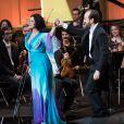 Exclusif - Angela Gheorghiu - 25e édition des Victoires de la Musique Classique à Evian-les-Bains. Le 23 février 2018 © Cyril Moreau/Bestimage