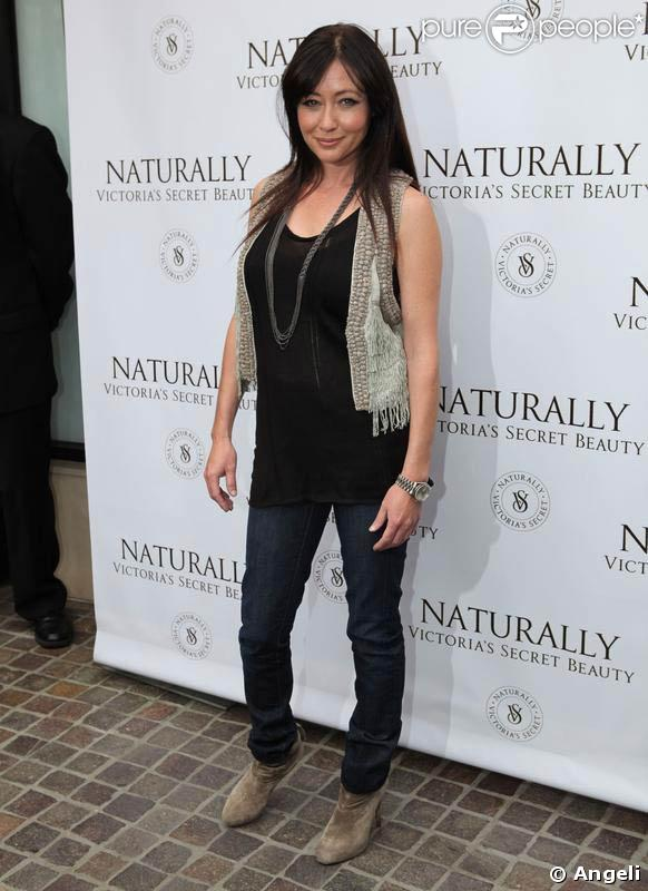 Shannen Doherty à la soirée de lancement de la crème Naturally, de la marque Victoria's Secret. 21/03/09