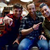 Frank Delay retrouve Allan Théo et Chris Keller sur les planches