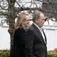 Meryl Streep lors de funérailles de Natasha Richardson, le 22 mars 2009