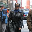 Mary J Blige à New York le 22 mars 2009