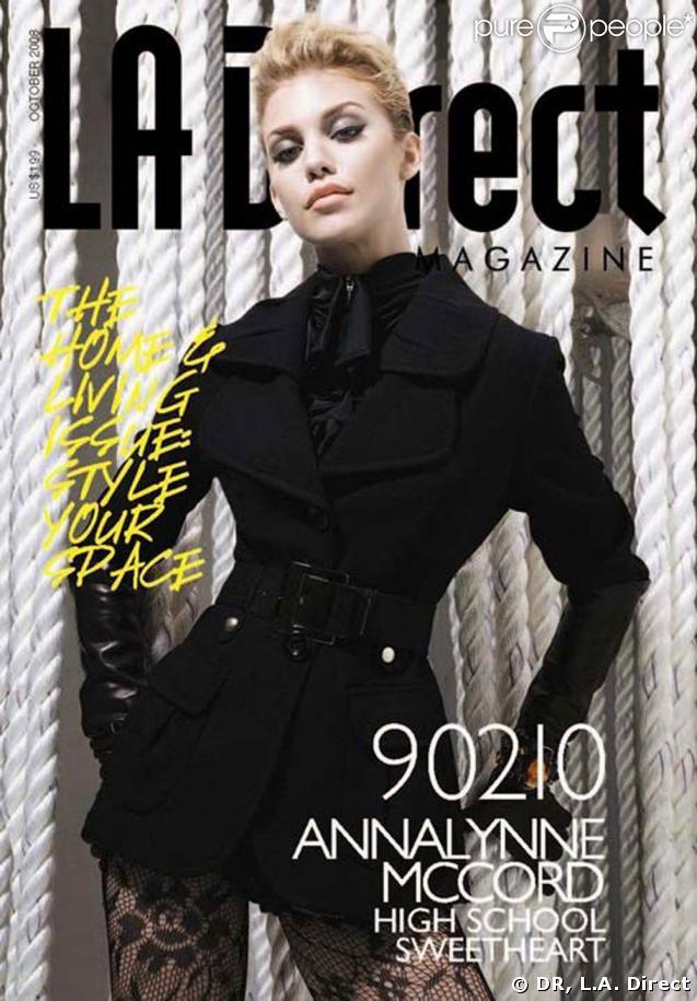 AnnaLynne McCord... superbe en couverture de L.A. Direct !