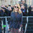 Emma Stone- Défilé Louis Vuitton collection automne-hiver 2018/2019 au Musée du Louvre. Paris, le 6 mars 2018. © CVS / Veeren / Bestimage