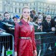 Sophie Turner - Défilé Louis Vuitton collection automne-hiver 2018/2019 au Musée du Louvre. Paris, le 6 mars 2018. © CVS / Veeren / Bestimage