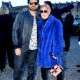 Edgar Ramirez et Noomi Rapace - Défilé Louis Vuitton collection automne-hiver 2018/2019 au Musée du Louvre. Paris, le 6 mars 2018. © CVS / Veeren / Bestimage