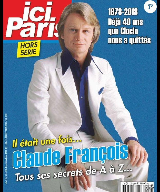 Ici Paris, hors-série Claude François, diponible depuis le 7 mars 2018.