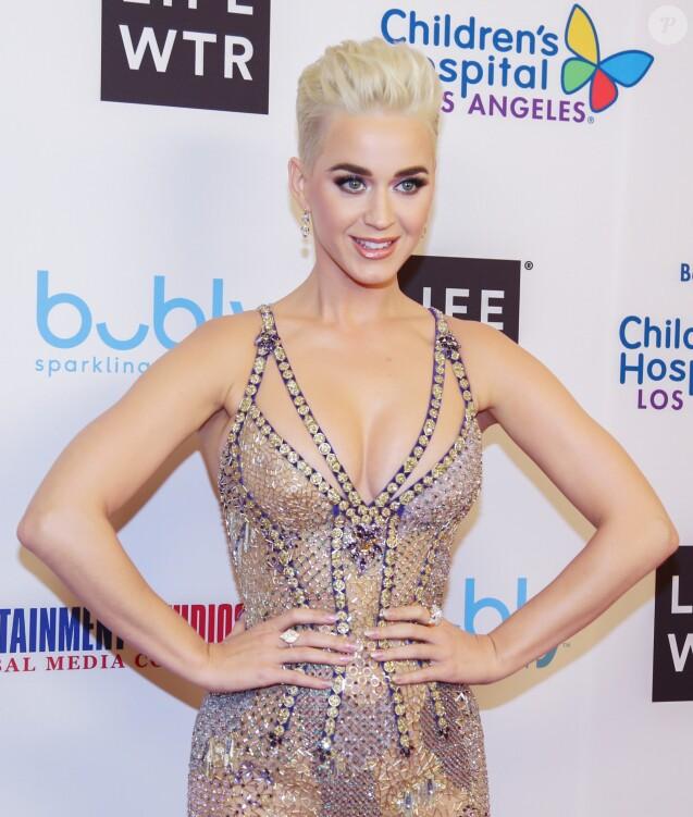 Katy Perry à Los Angeles le 4 mars 2018 lors d'un gala caritatif.