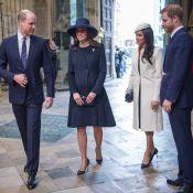 Meghan Markle : Avec Harry et Kate enceinte, 1re mission au côté d'Elizabeth II