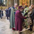 La reine Elisabeth II d'Angleterre et Liam Payne - La famille royale d'Angleterre lors de la cérémonie du Commonwealth en l'abbaye Westminster à Londres. Le 12 mars 2018  Annual multi-faith service in celebration of the Commonwealth. 12 March 2018.12/03/2018 - Londres