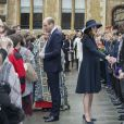 Le prince William, duc de Cambridge, Kate Catherine Middleton (enceinte), duchesse de Cambridge - La famille royale d'Angleterre lors de la cérémonie du Commonwealth en l'abbaye Westminster à Londres. Le 12 mars 2018  Annual multi-faith service in celebration of the Commonwealth. 12 March 2018.12/03/2018 - Londres