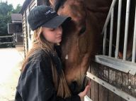 Emma Smet : La fille de David Hallyday se ressource entourée de chevaux