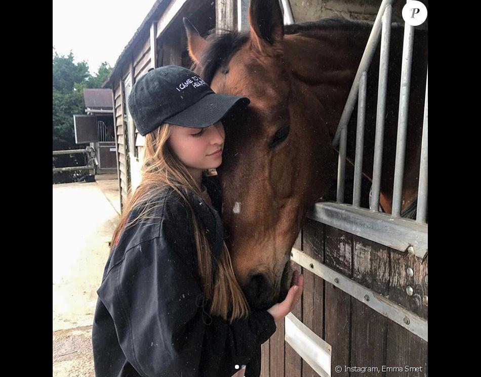 Emma Smet sur Instagram, le 12 mars 2018.