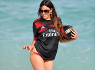 Claudia Romani (Secret Story) : Folle de foot, la bombe soutient son équipe