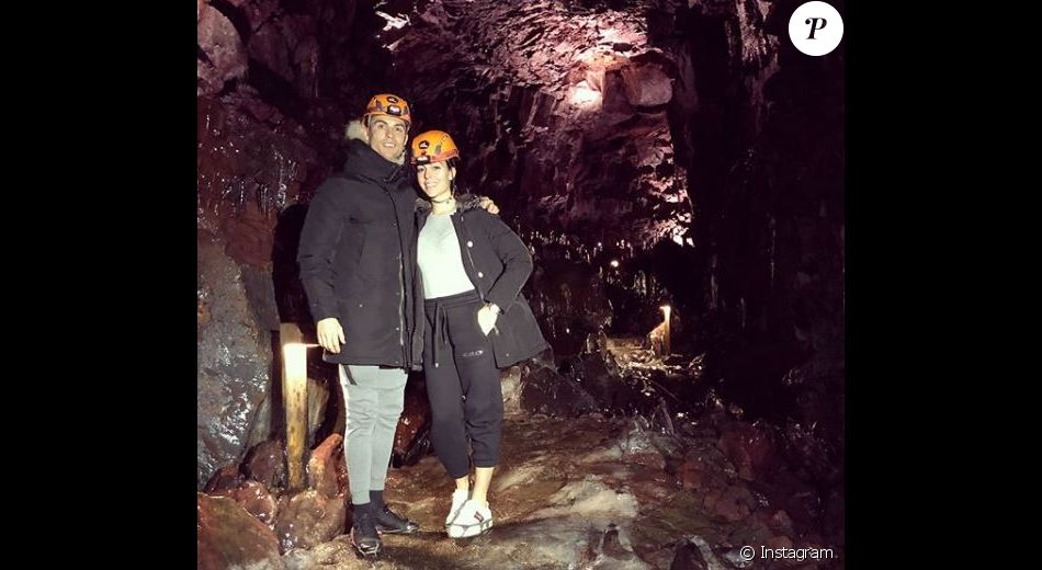 Cristiano Ronaldo en vacances avec sa compagne Georgina Rodriguez. Instagram, mars 2018.