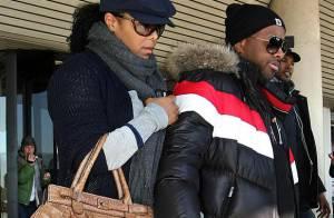 Janet Jackson et Jermaine Dupri... la famille Bidochon à New York !