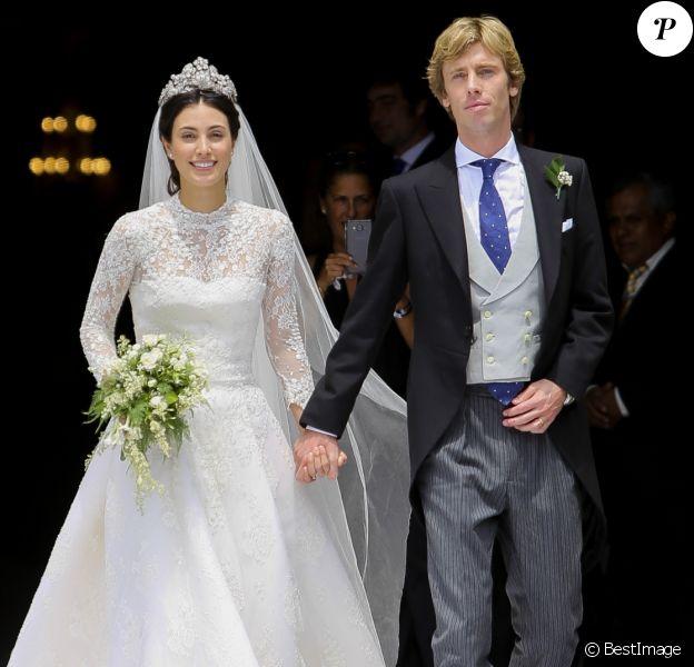 Le prince Christian de Hanovre et sa femme Alessandra de Osma - Mariage du prince Christian de Hanovre avec Alessandra de Osma à Lima au Pérou le 16 mars 2018
