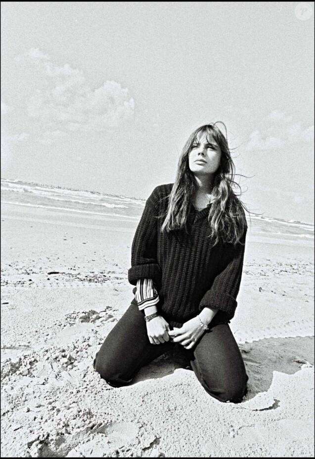 Marie Trintignant en Israël, le 29 février 1980.