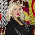 Fushia attitude pour Christina Aguilera à L.A, le 23 novembre 2008