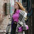 La femme de Borat, Isla Fisher... Un vrai p'tit bonbon à New York !