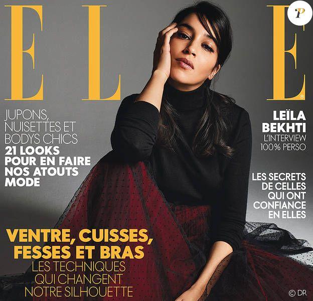"""Couverture du magazine """"Elle"""" en kiosques le 23 mars 2018"""