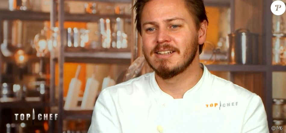 """Mathew lors de l'épisode 9 de """"Top Chef"""" diffusé mercredi 28 mars 2018 sur M6."""