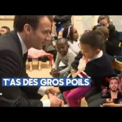 """Emmanuel Macron : Quand le président """"se fait bolosser par des gosses de 4 ans"""""""