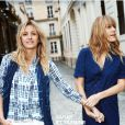 Yasmine et Sarah Lavoine sont les nouvelles ambassadrices de la maison Comptoir des Cotonniers